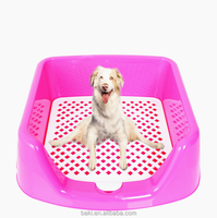 Pet Toliet Mat Indoor Pet Toilet Dog Restroom Potty Training Loo Tray