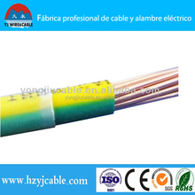 electric wire specification nylon coated wire awg4/0-awg14 thhn wire