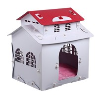 pet products china supplier dog kennel wholesale cheap plastic dog tiny house