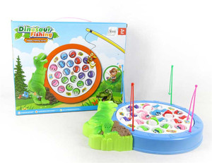 Dinosaur Battery Operated Fishing Game With Music twinkle twinkle Little Star