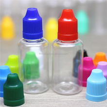 free samples wholesale plastic eliquid 30ml dropper box of pet dropper bottle with childproof dropper