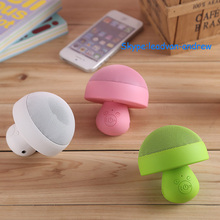 Novel Mushroom Design 360 Degree Stereo Music Surround Pocket Size Super Bass Portable Speaker