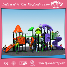 X-ray day outdoor plastic playground equipment bravo playgrounds for sale