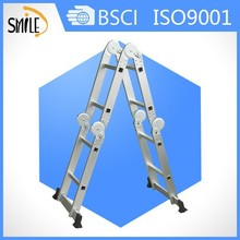 Smile ML-102A 4X2 steps aluminium multi function ladder