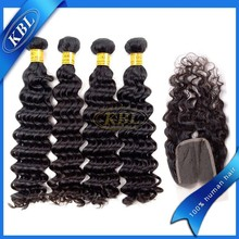 Top selling high quality unprocessed 5a 100% human virgin peruvian hair weft