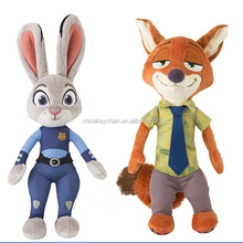 "2016 NEW Zootopia Movie OFFICER JUDY HOPPS 8"" PLUSH Doll"