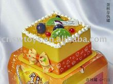 Cake like money can & coin box ( ice cream money can, icecream coin box )