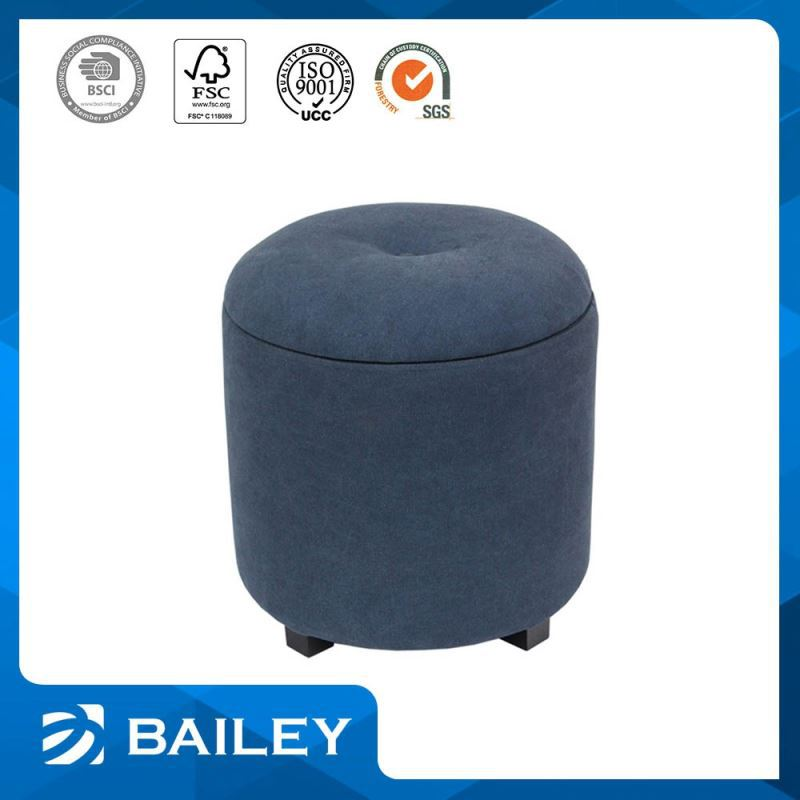 furniture fancy stool chair knitted round ottoman