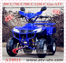 110cc kids gas four wheelers cheap 4x4 atv type hot sale with CE