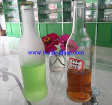 wholesale 275ml clear cocktail beverage glass bottle