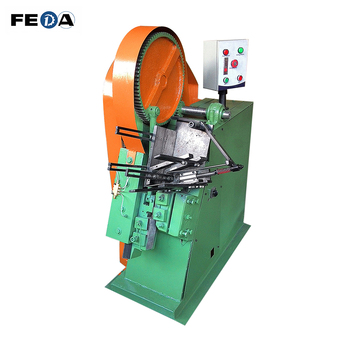 Vertical thread rolling machine high speed thread making machine with automatic feeder