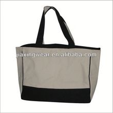Hot sales custom leather canvas bag for women for shopping and promotiom,good quality fast delivery