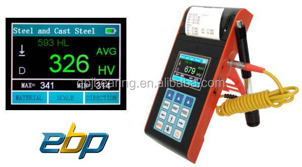 2017 hot sale portable type digital leeb hardness tester price L-5