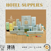 Hotel amenities with your logo Natural luxury hotel amenities kit Hotel room guest supplies
