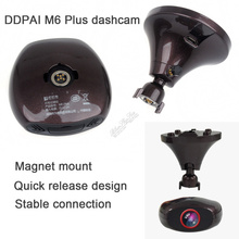 Ddpai M6 Plus HD1440P WIFI Car Dashcam Video Record DVR GPS Camera app iphone and android
