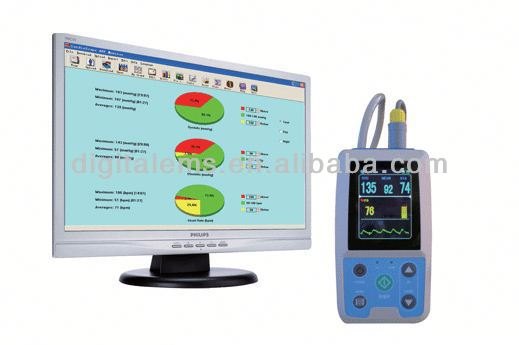 Small Portable patient monitor ecg PM50