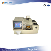 Automatic Cleveland Open Cup Flash Point Tester for petroleum with Color LCD large screen display PT-D92-8C/109 LabGeni