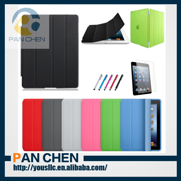 Ultra Thin Magnetic Smart Cover Leather Case Cover For NEW IPAD AIR 2013 MODEL