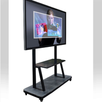 Big size infrared china 65 inch no projector lcd interactive tv touch screen smart whiteboard for e-learning tv led inte