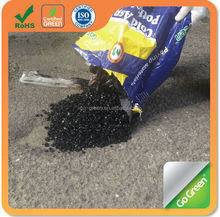 Go Green cold asphalt in bags/Instant road repair cold asphalt material