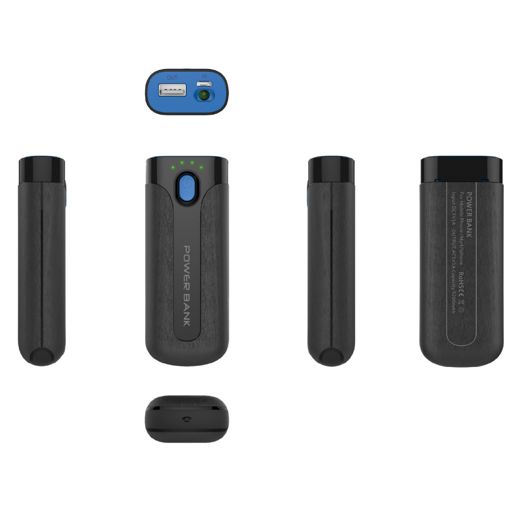 China Sex Move Rugged Powerbank 5600mah for Promotion