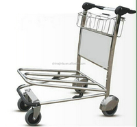 Low cost small airport baggage trolley china best selling products in philippines