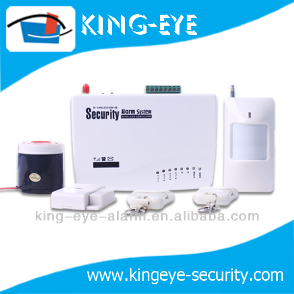 auto dial intelligent wireless home gsm security alarm system,alarm for fire,burglar, leaking etc.