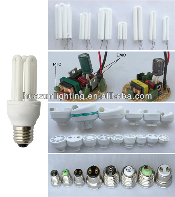 7W 9w 11W 13W 15W 6500k 6700K energy saving lamp