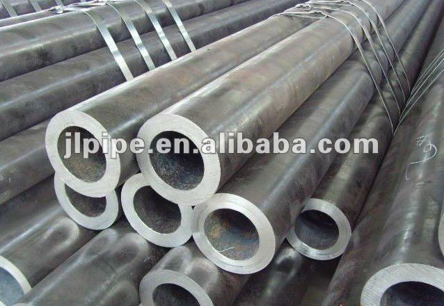 St52 Low alloy hot rolled SMLS pipe