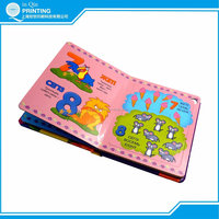 Well designed colourful drawing book printing for children