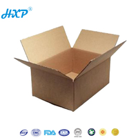 Cardboard box 3-Layer B-Flute Flexo glue for corrugated carton