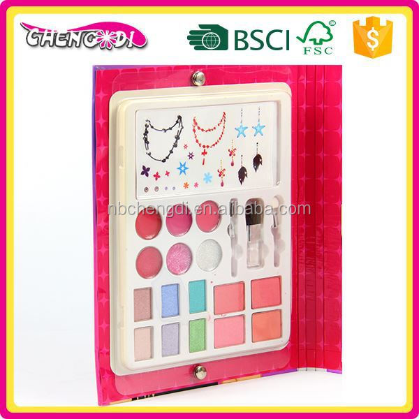 Promotional kids fancy makeup kit for girl