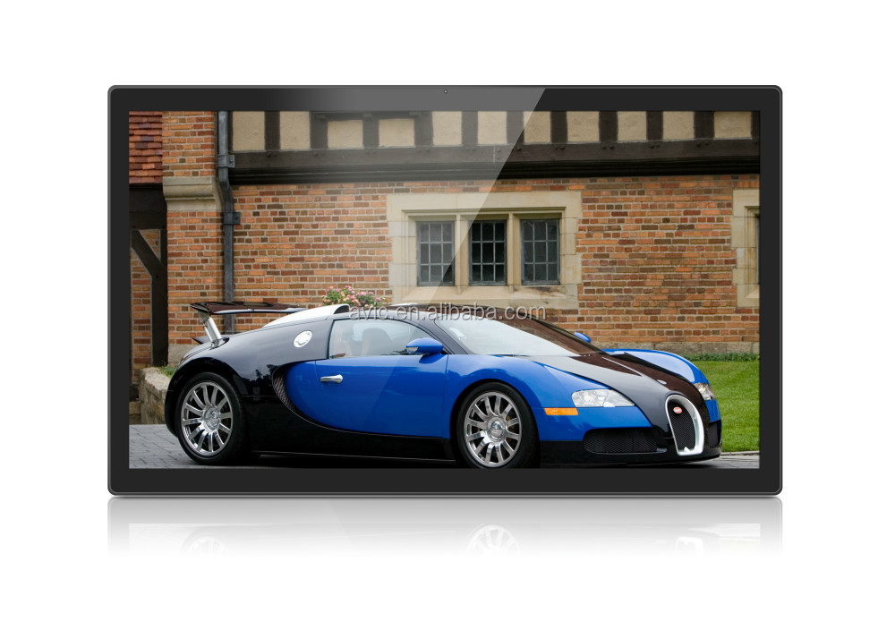 Commercial 10 inch tablet pc LCD Advertising player for Car Show