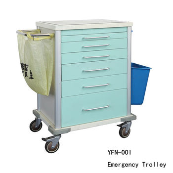 Hospital Emergency Trolley