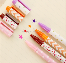 South Korea stationery wholesale Blue fruit small pure and fresh and 2 color pen C office neutral pen PN5845