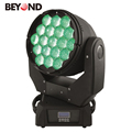 party stage design 19X15w 4in1 rgbw zoom led for concert moving head