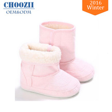 Wholesale Cute Soft Sole Snow Winter Ankle Baby Boots for Girls