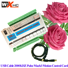3 Axis Mach3 CNC control Card usb cnc controller board usb interface cnc motion controller