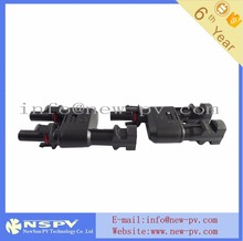T Branch MC4 Solar Connector Y Type MC4 Connector TUV approved