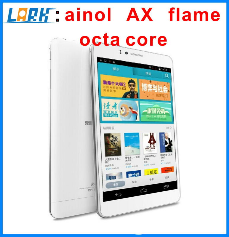 original Ainol AX Flame Phablet Octa Core MTK6592 IPS Screen 7 Inch Android 4.4 16GB Black