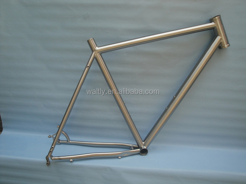 Chinese titanium time trial bicycle frame with professional design