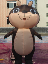 SUNWAY OEM/ODM Welcome Inflatable Squirrel for Amusement Park