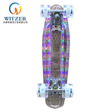 new led plastic and hoverboard skateboard