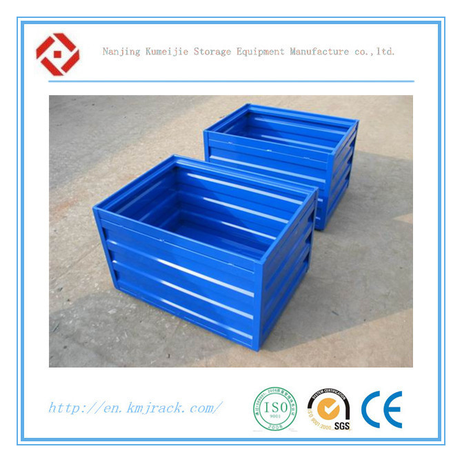 Warehouse Stackable Foldable Metal Bins