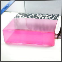 Oem Eco-friendly Transparent Plastic Shoe Storage Boxes