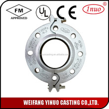 FM UL Approved Grooved flange supplier Double eccentric flange