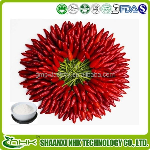 Natural Capsaicin Powder In Bulk In Health&Medical