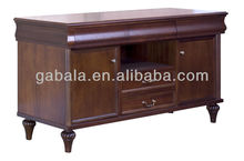 JK03-13 Solid Cherry Wood Chest Cabinet with Drawers