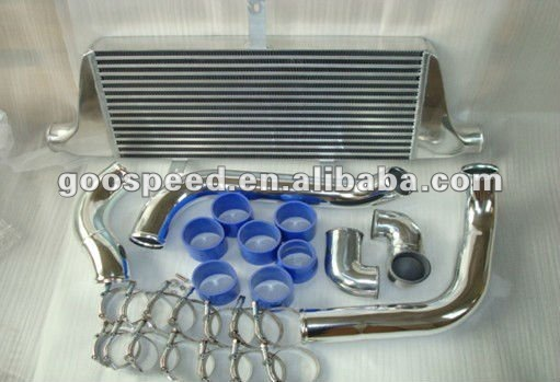 Car Aluminum Intercooler kits for Toyota Chaser JZX100