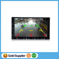 7'' Double Din In-dash Car Radio MP5 Video DVD Player,Bluetooth RDS FM HD 1080P Head Unit Remote Control Rear-view Camera